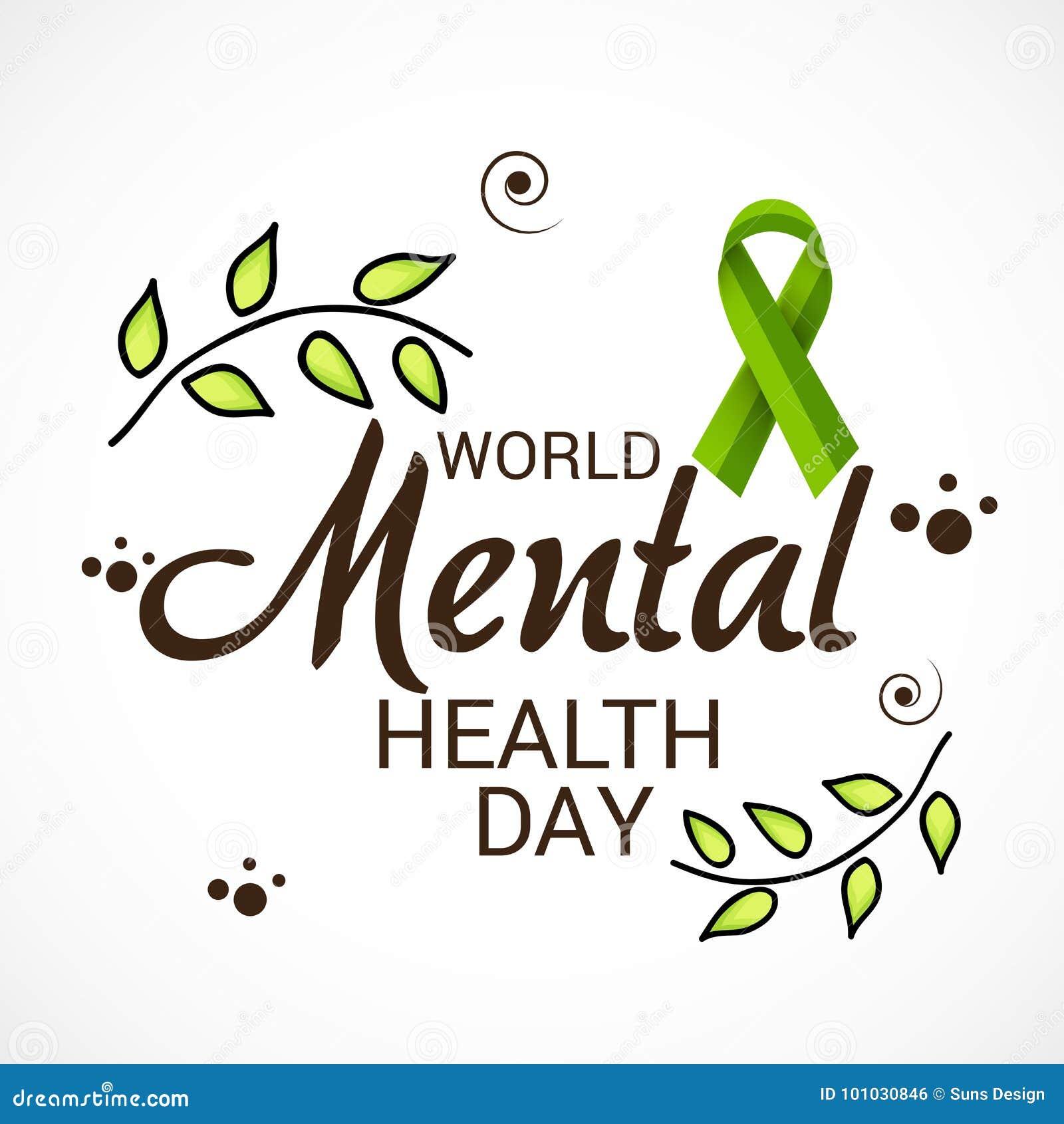 World Mental Health Day Stock Illustration Illustration Of Patient 101030846