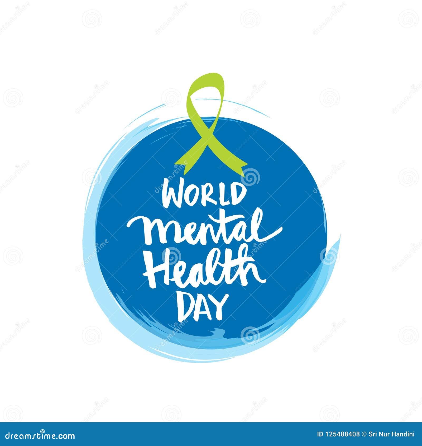 World Mental Health Day Stock Illustration Illustration Of Depression 125488408