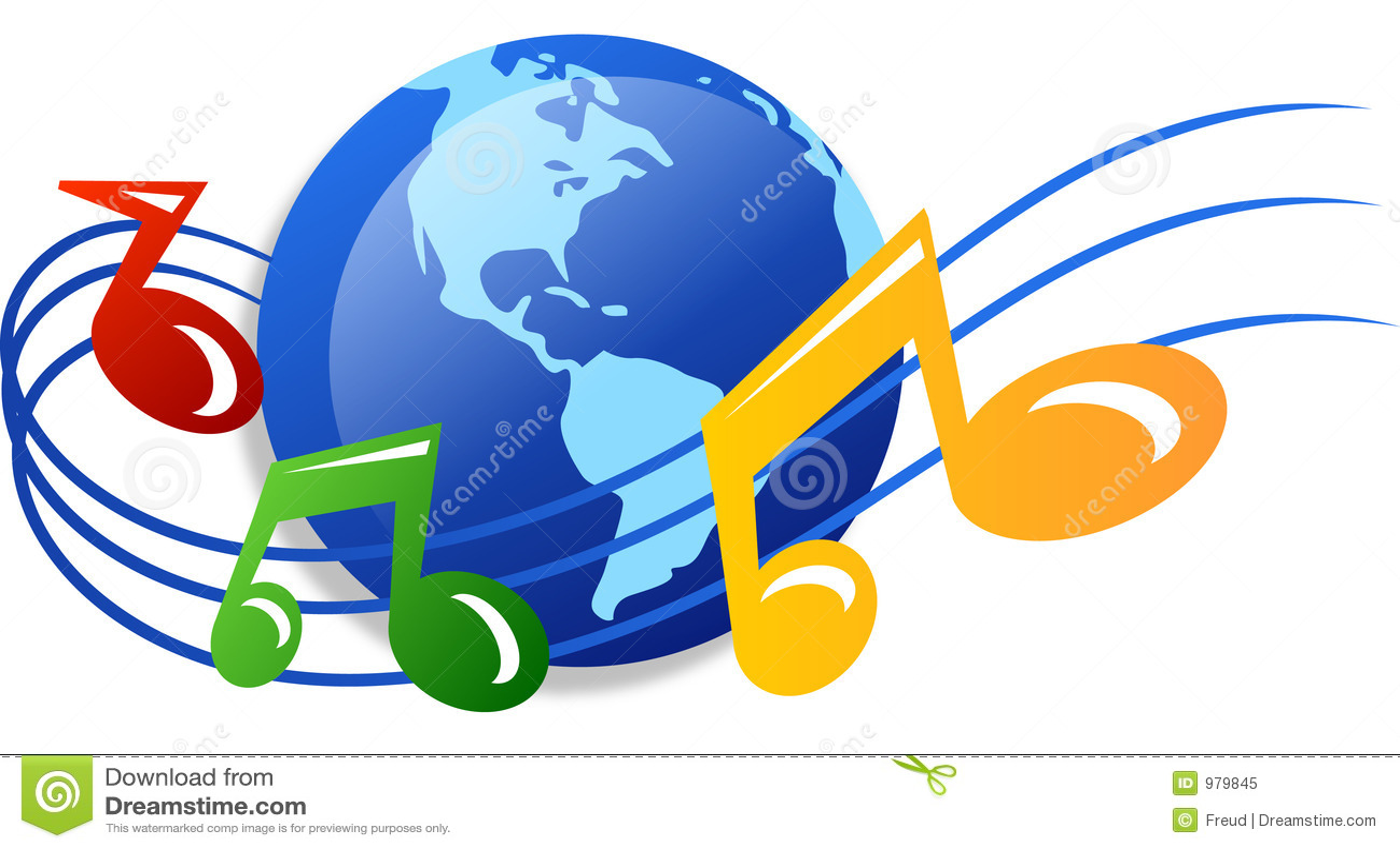 World Of Music Royalty Free Stock Photo - Image: 979845
