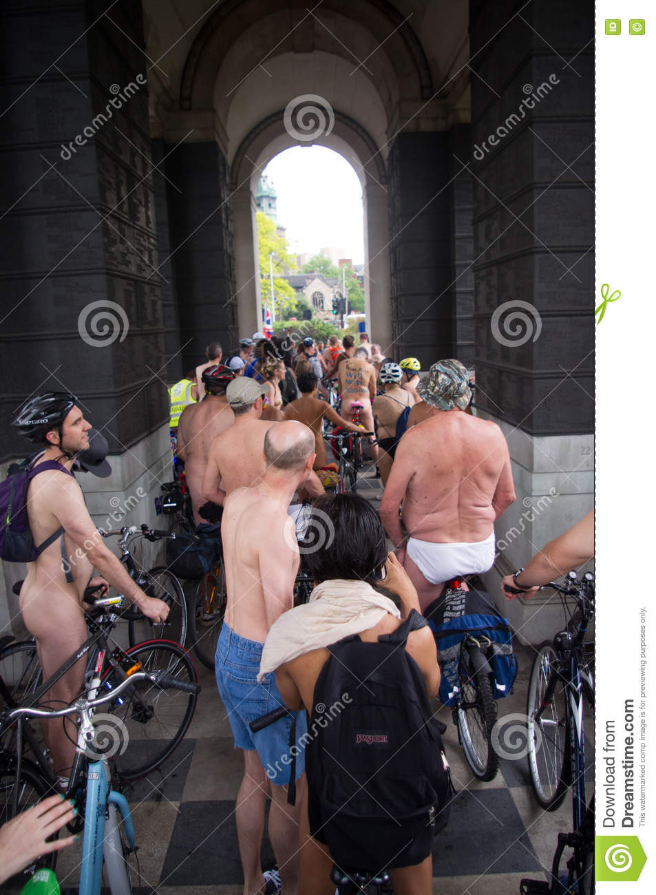 World Naked Bike Ride London 2016 Editorial Stock Photo -7247