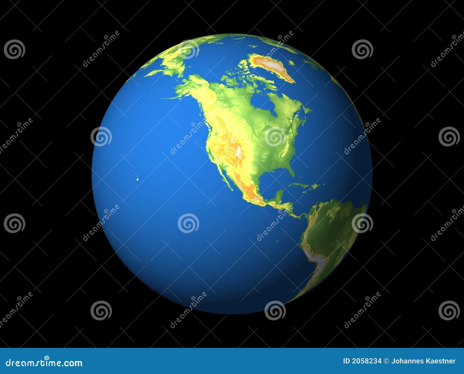 World, North America, Pacific
