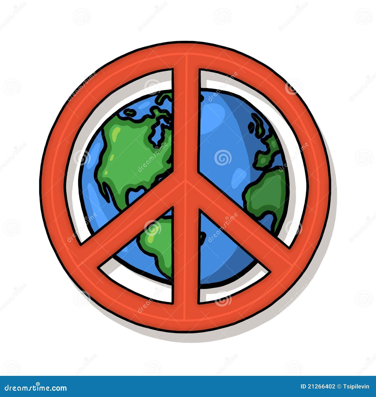 World peace symbol stock illustration illustration of world world peace symbol buycottarizona Gallery