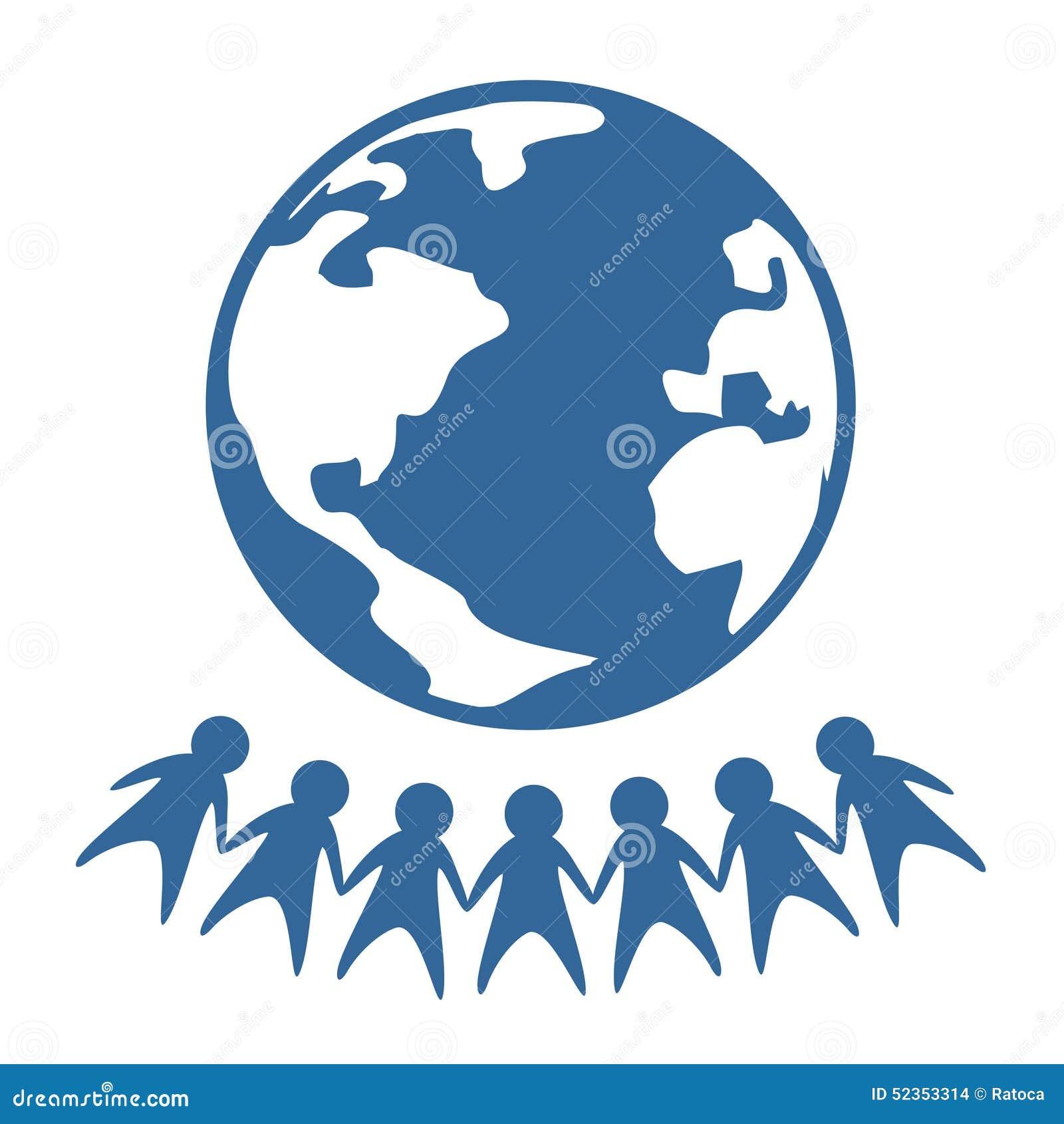 World peace symbol stock vector illustration of blue 52353314 world peace symbol buycottarizona Gallery