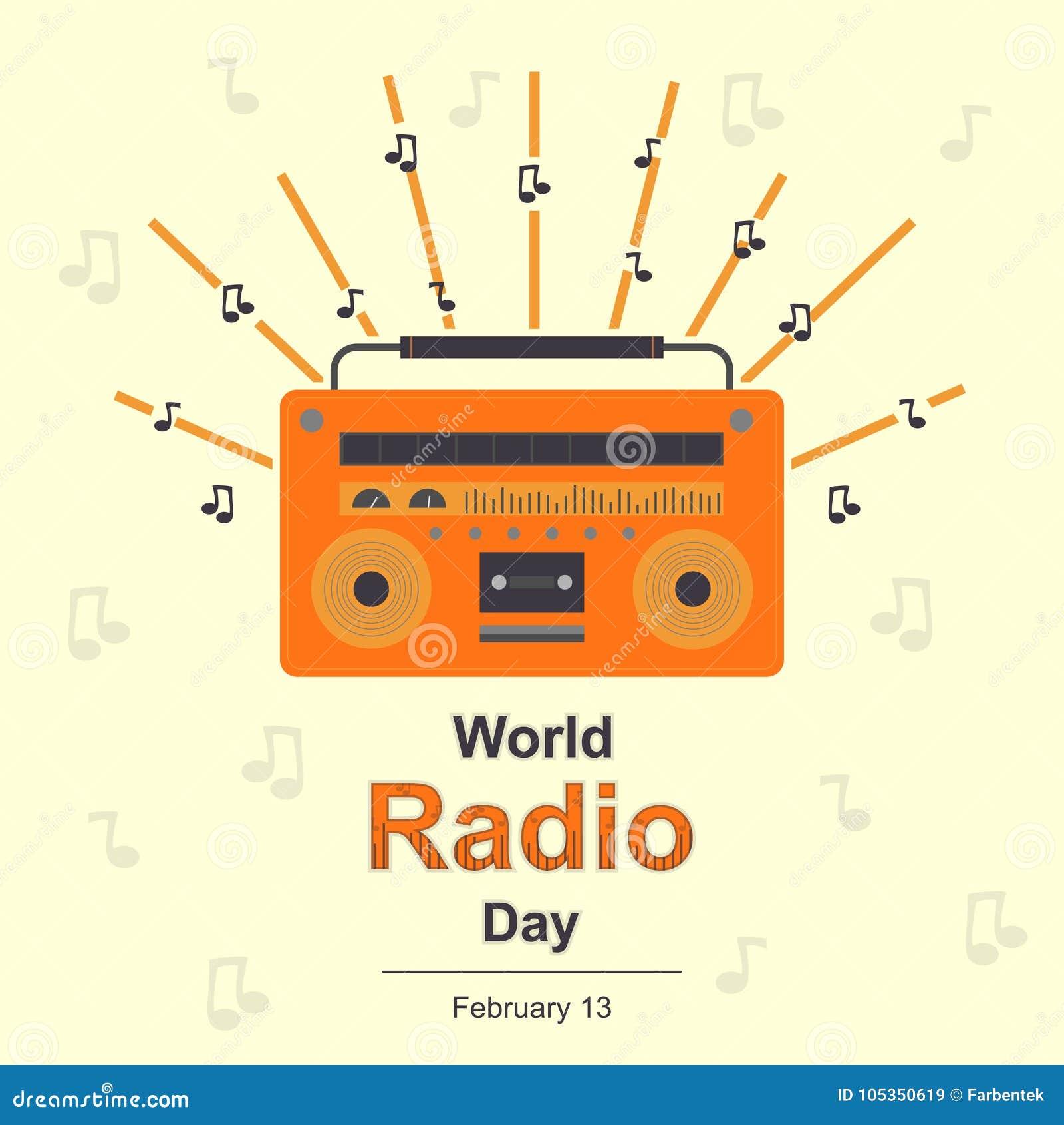 World Radio Day, 13 February.