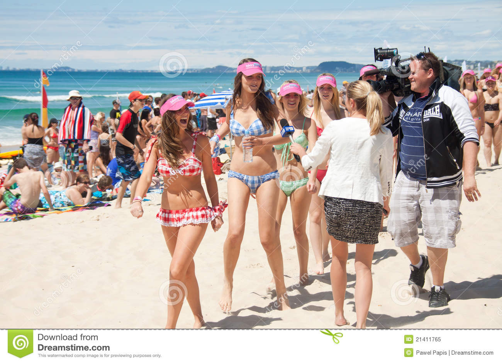 Großer australischer Bikinimarsch — 10
