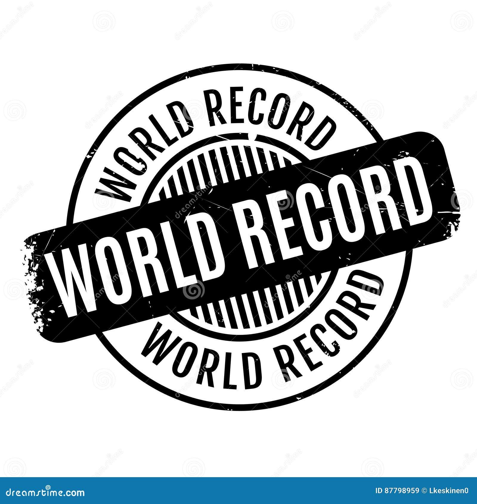 World Record Clip Art - Royalty Free - GoGraph