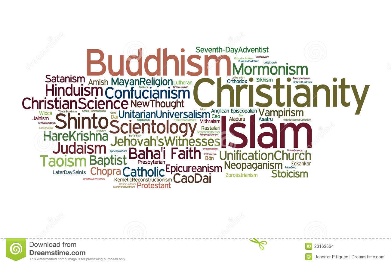 RE World Religions Lessons Tes Teach - World religion concept map