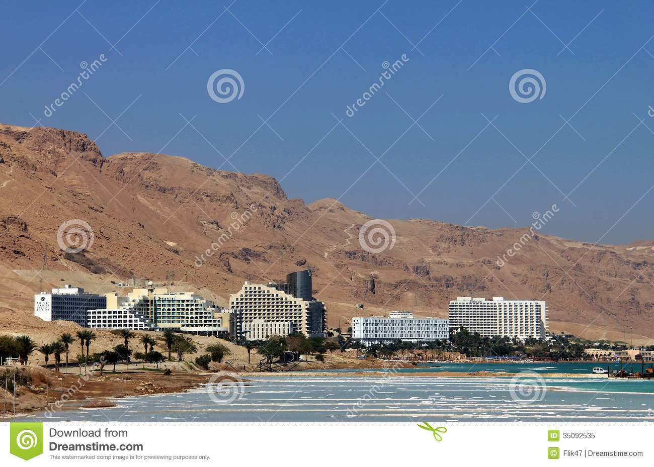 World-renowned health resort complex on the Dead sea