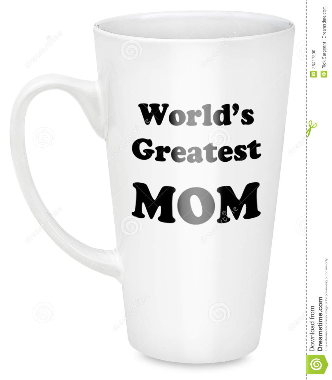 Background Coffee Greatest Isolated Mom Mug Text White World