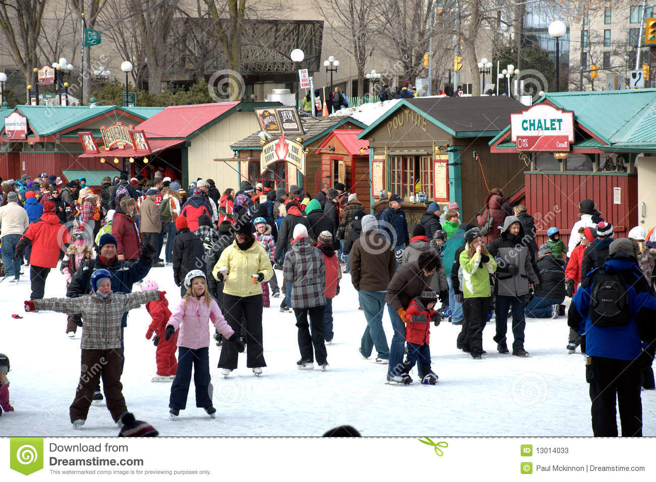 Biggest Backyard Ice Rink : Worlds Largest Outdoor Skating Rink Editorial Stock Photo  Image