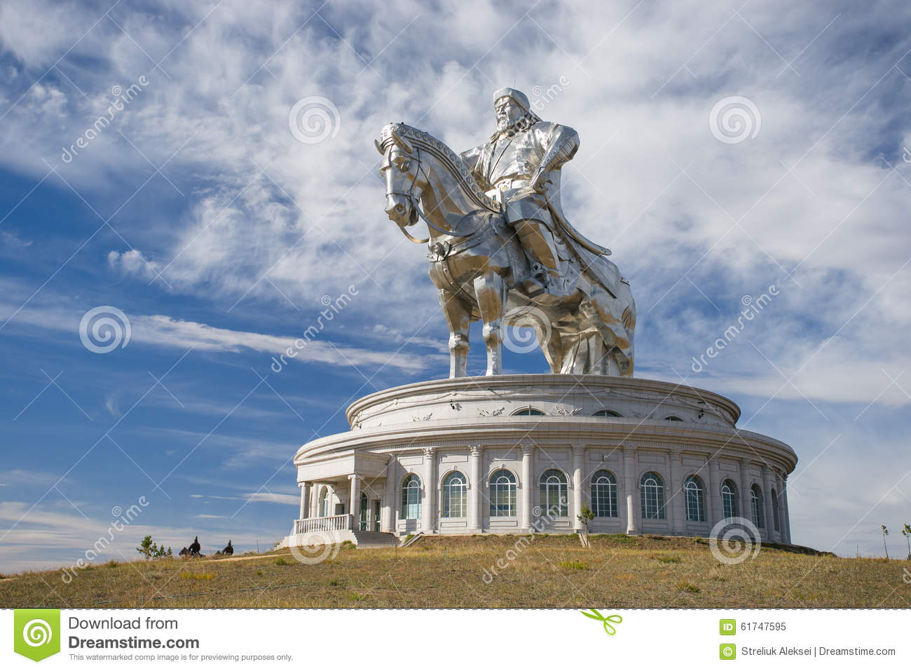 The world s largest statue of Genghis Khan