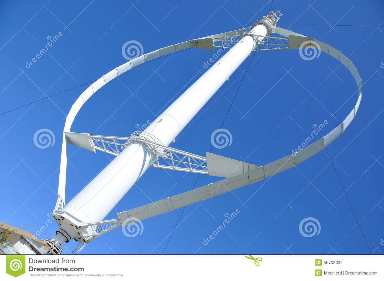 World's Largest Vertical Axis Wind Turbine Editorial Photography