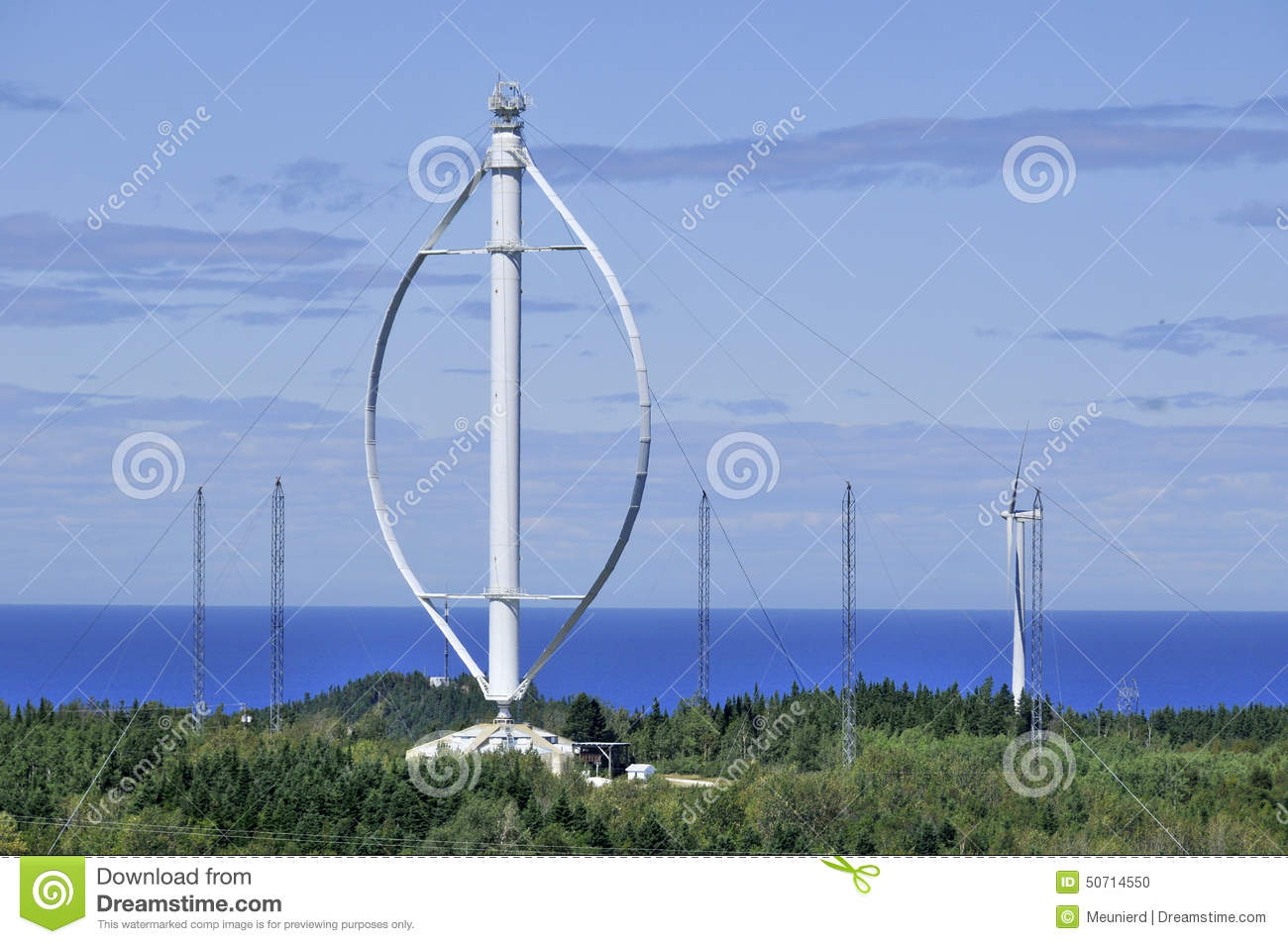 World's Largest Vertical Axis Wind Turbine Editorial Image