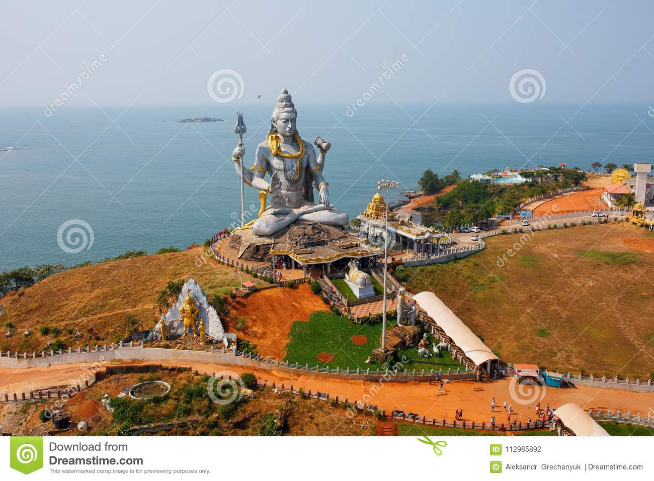 World`s second tallest statue of Lord Shiva