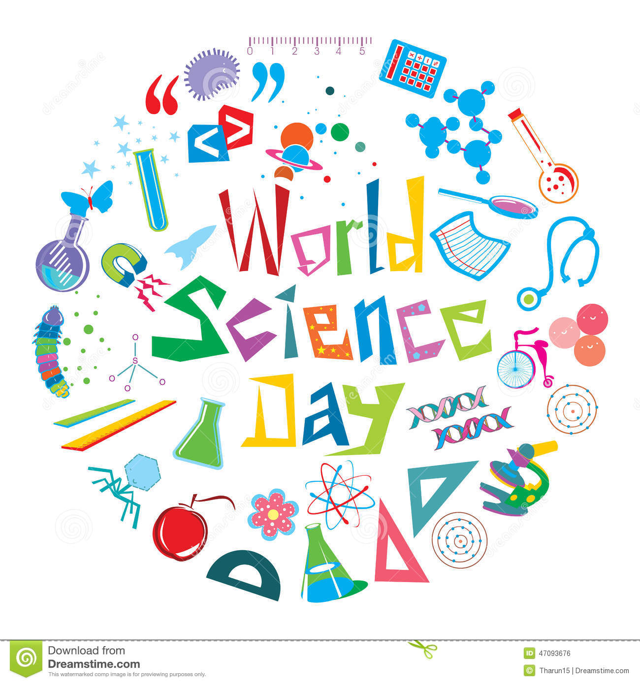 World Science Day Stock Photo Image 47093676