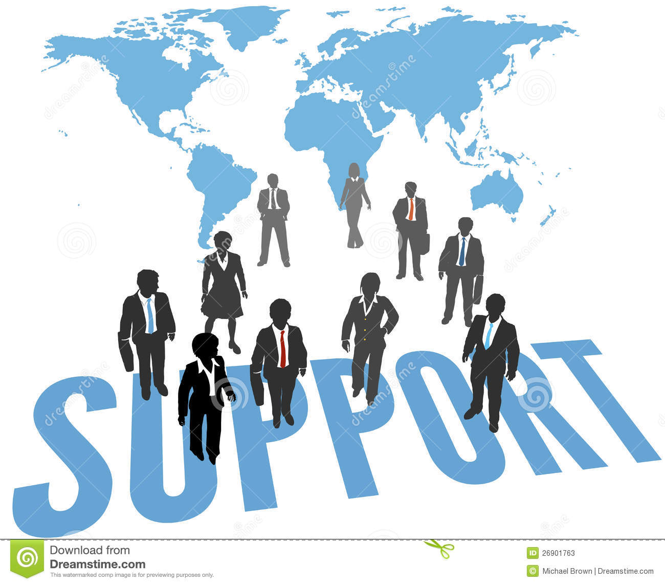 Support individual s at the end of