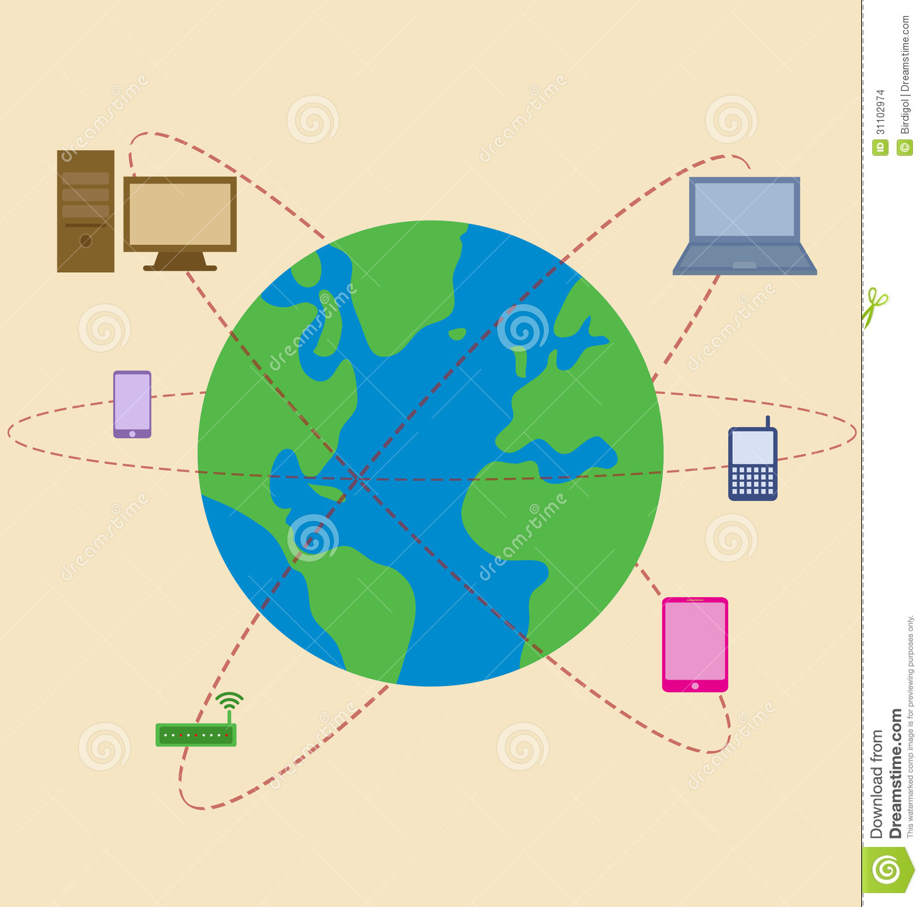 World is surrounded by mobile technology