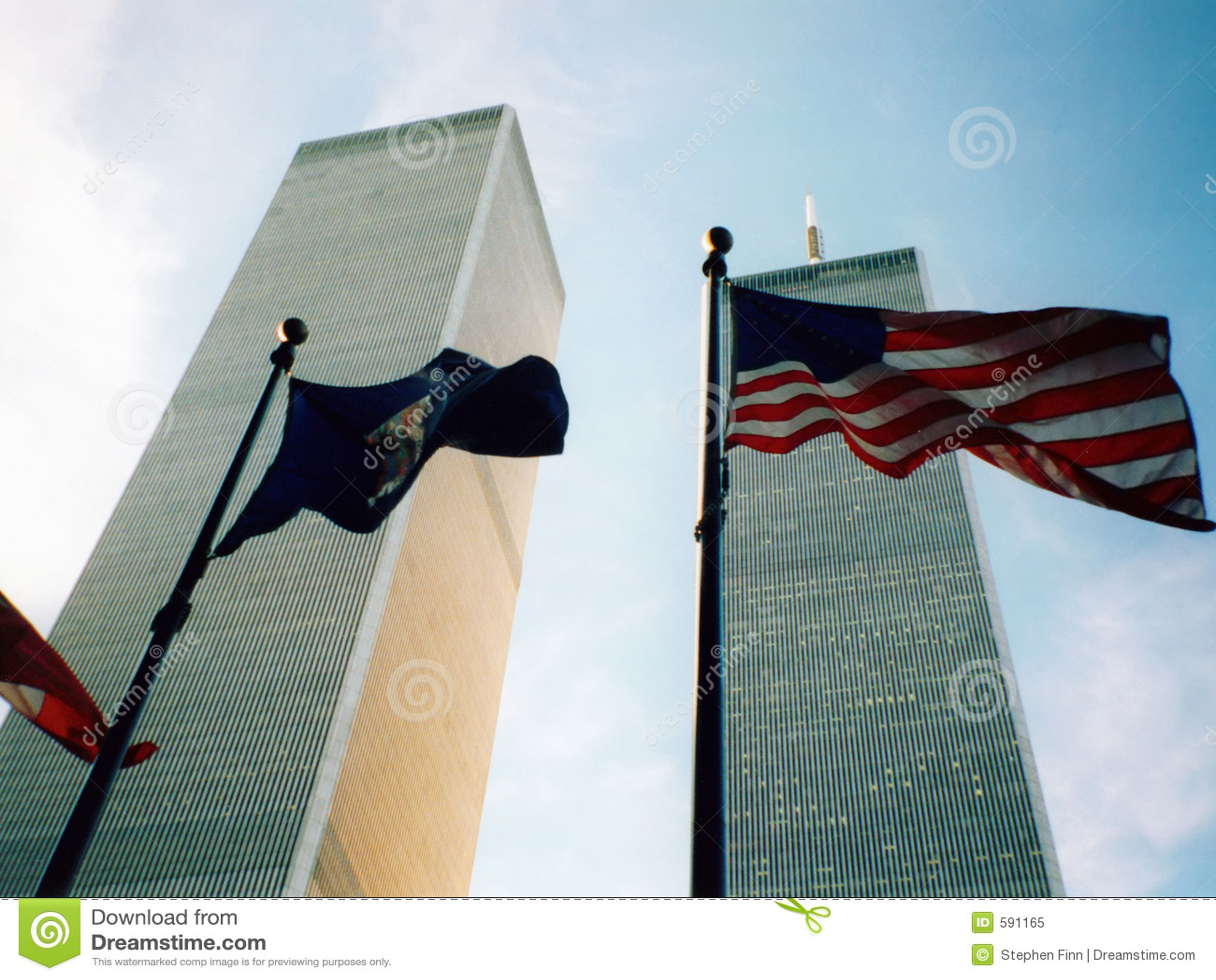 World Trade Center con el indicador