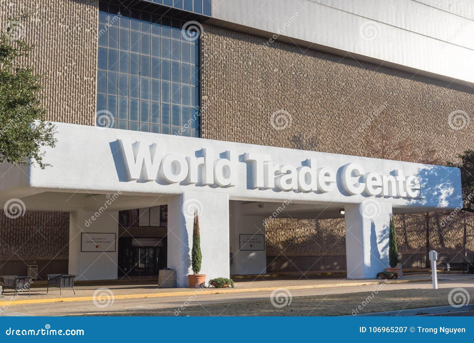 The World Trade Center Dallas Or Market Center Editorial