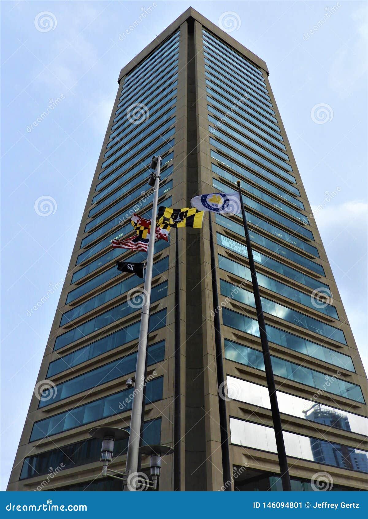 World Trade Center in het M.D. van Baltimore