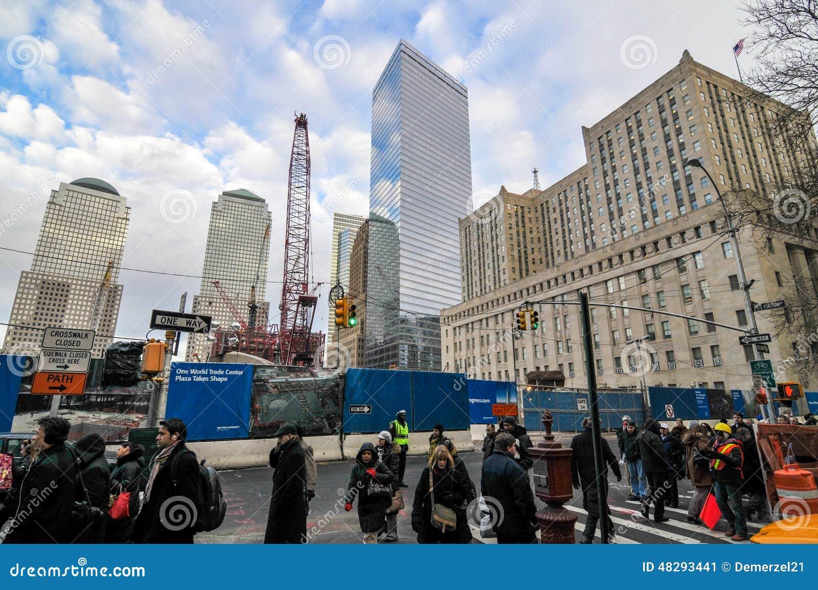 7 World Trade Center, New York Editorial Photo - Image of