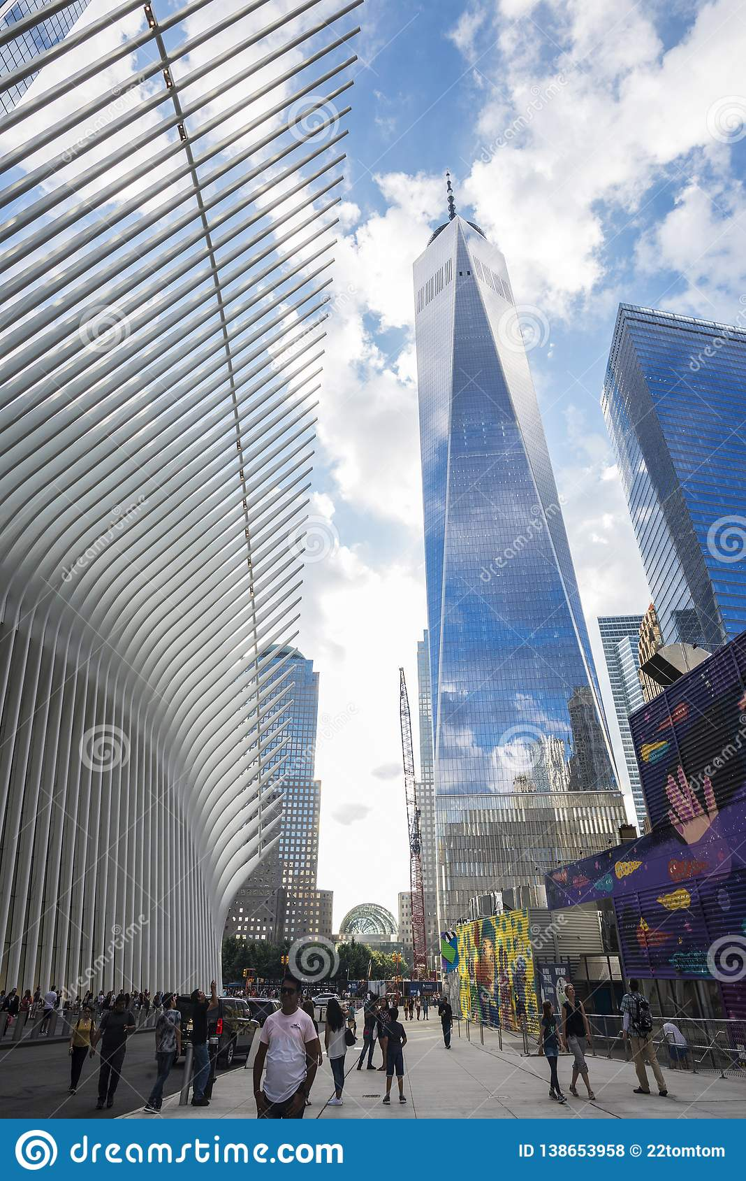 38ae55715c8c World Trade Center Station PATH In Manhattan In New York City