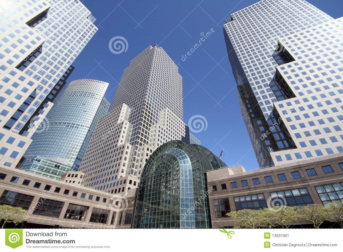 world trade center winter garden atrium stock image image 14507001