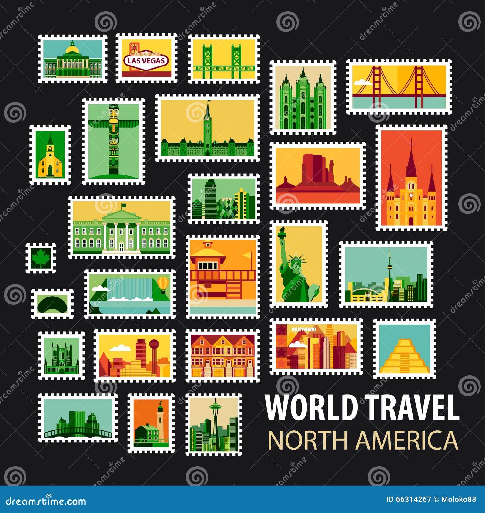 World Travel Iconos fijados