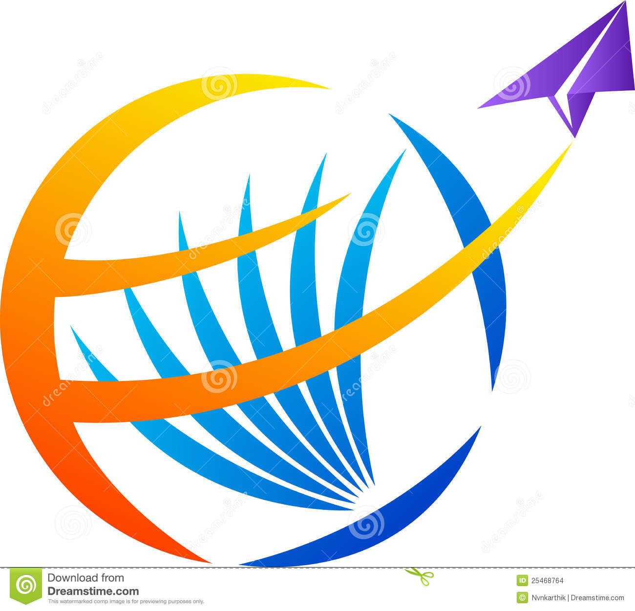 World travel logo stock vector. Image of delivery, globe ...