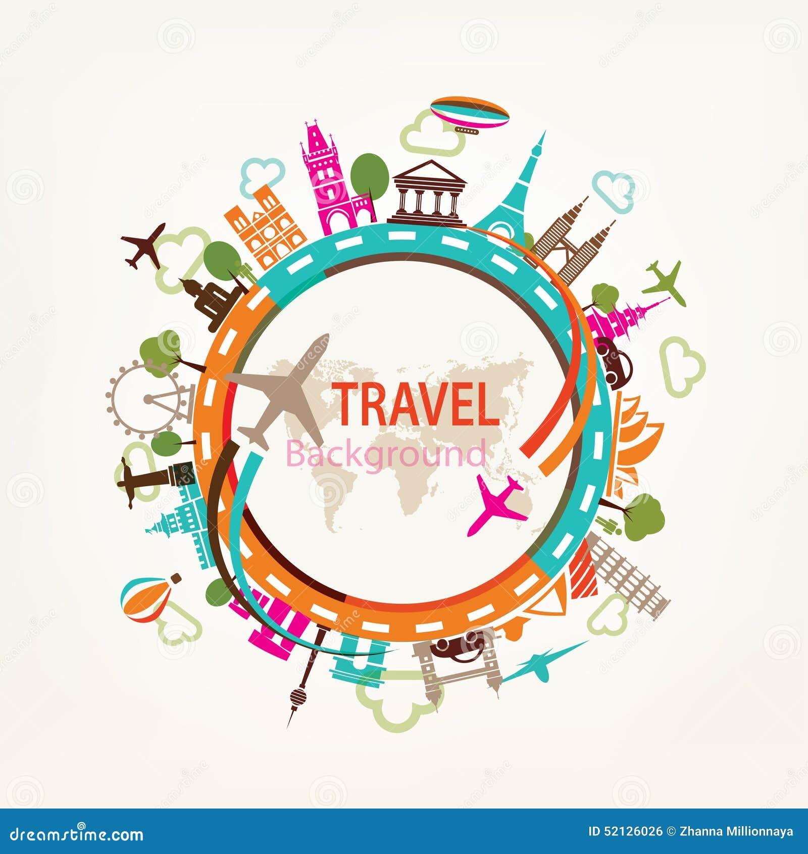 World Travel, siluetas de las señales