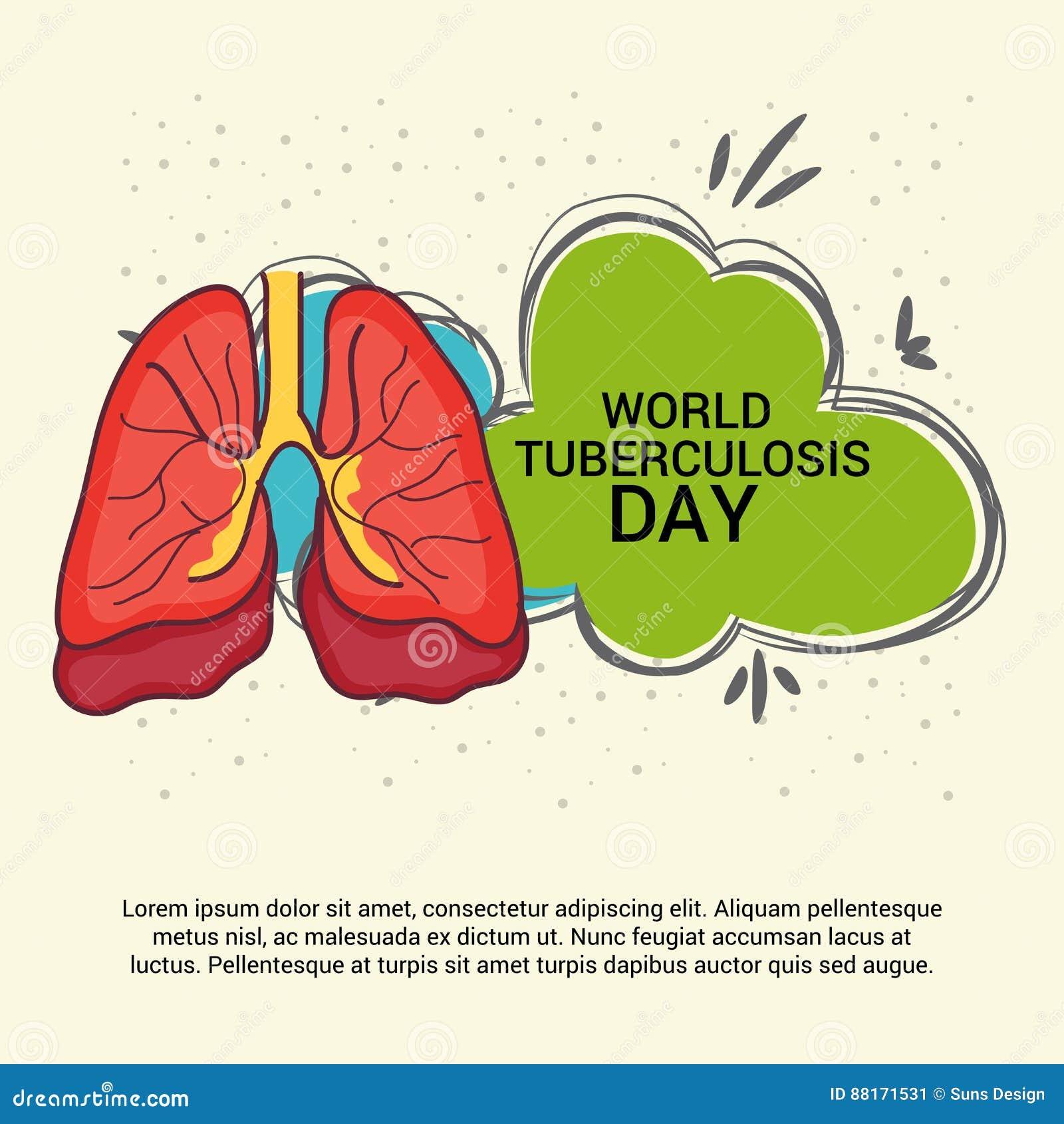 World Tuberculosis Day Stock Illustration Illustration Of Infection