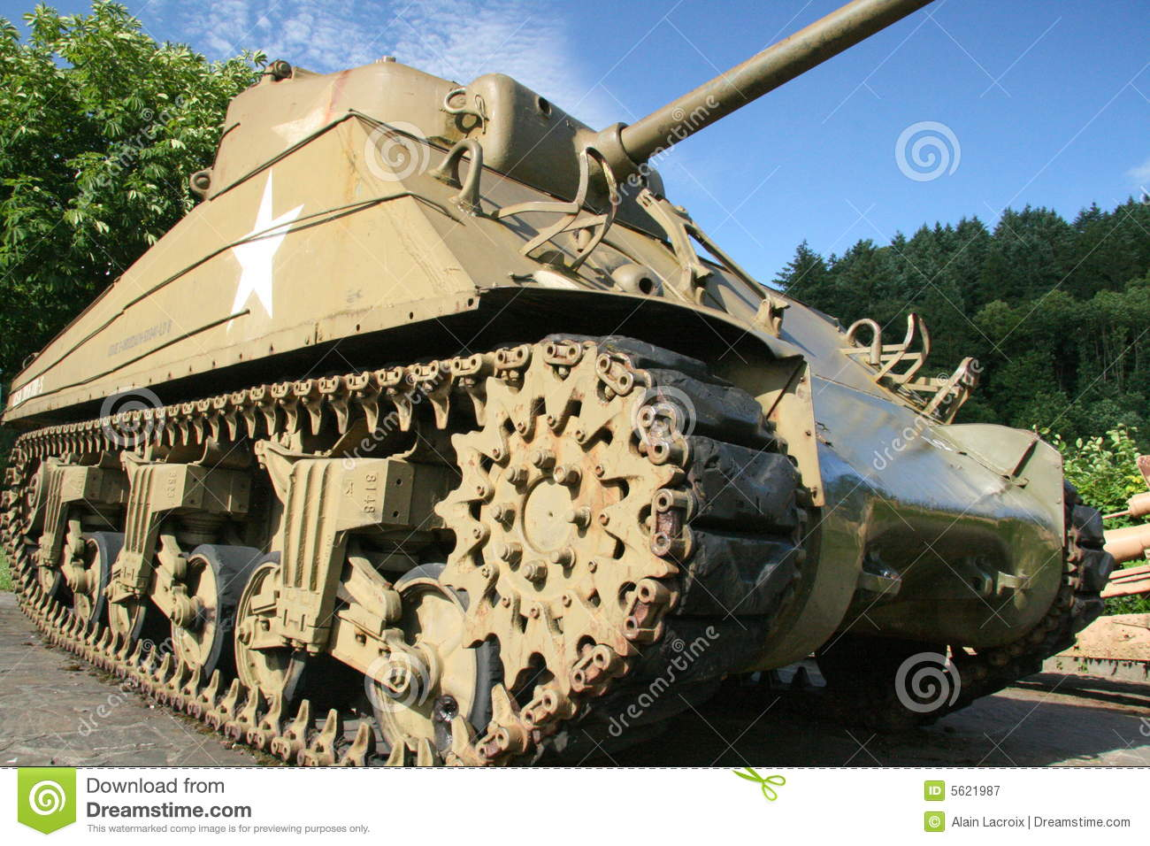 World War 2 Tank Royalty Free Stock Photography - Image: 5621987