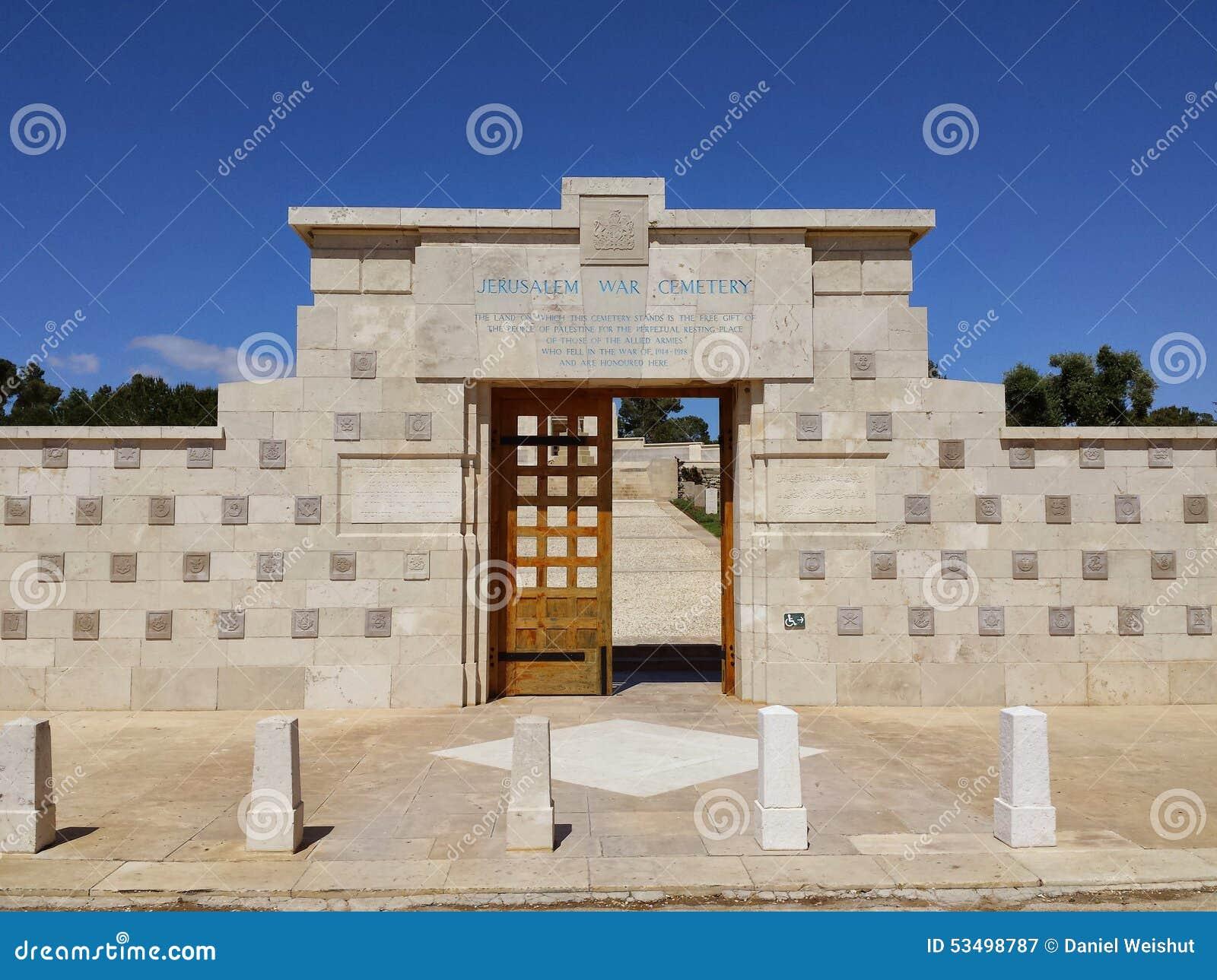 World War I cemetery Jerusalem