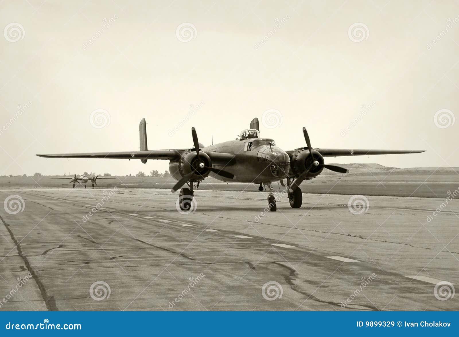 World War II era bombers