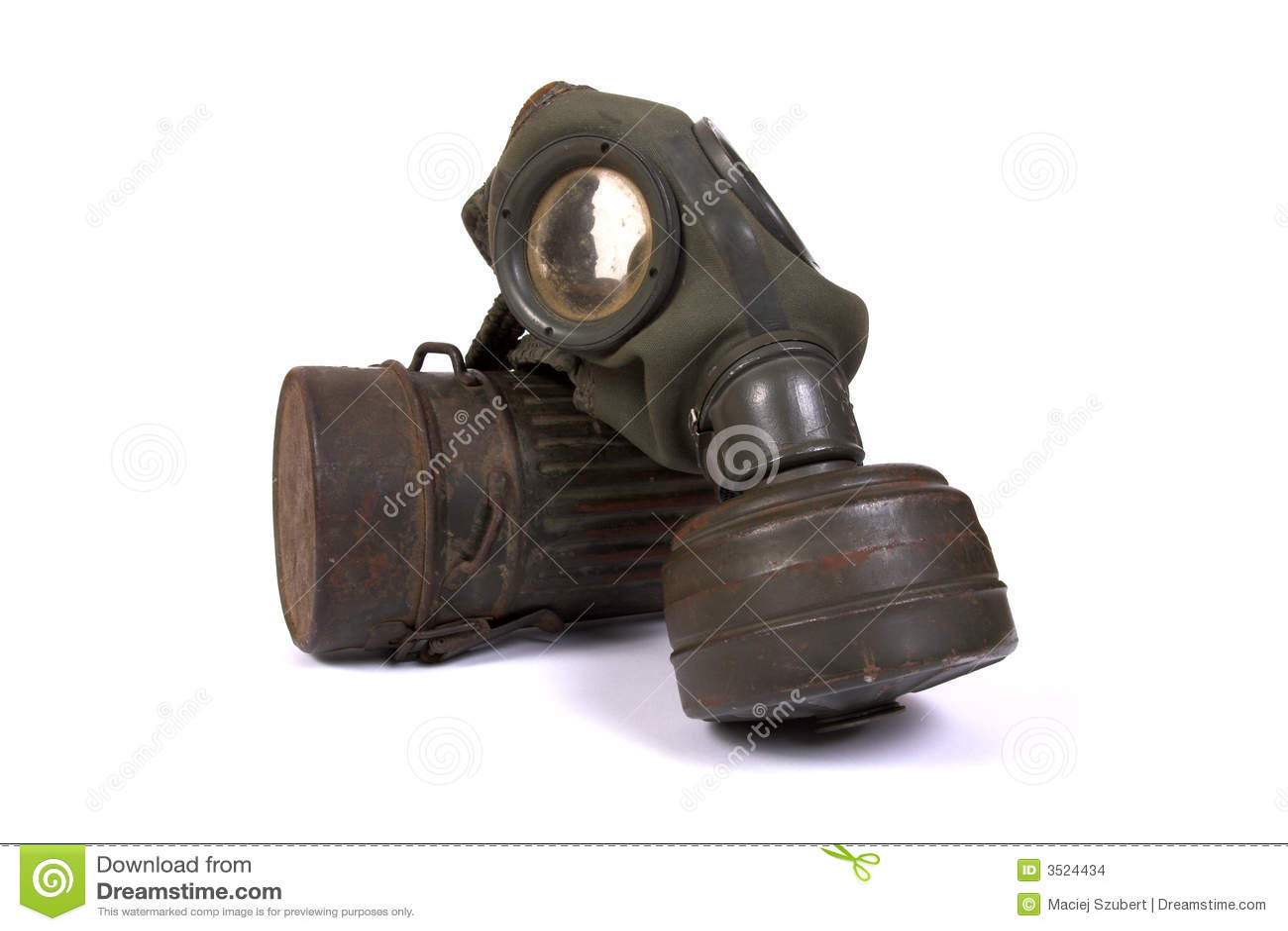 Stock images world war ii gas mask 3