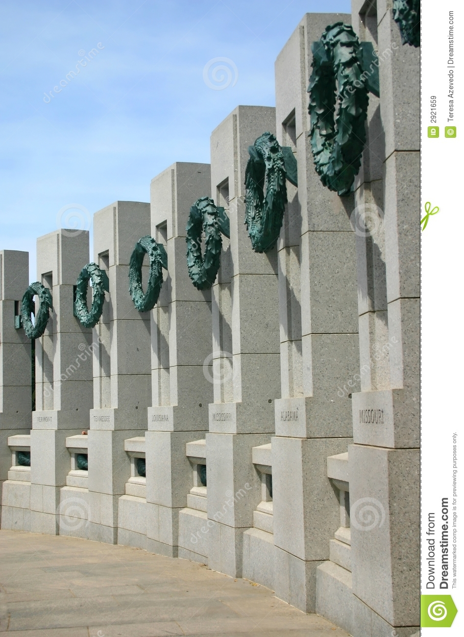 Download World War II Memorial stock image. Image of columbia, national - 2921659