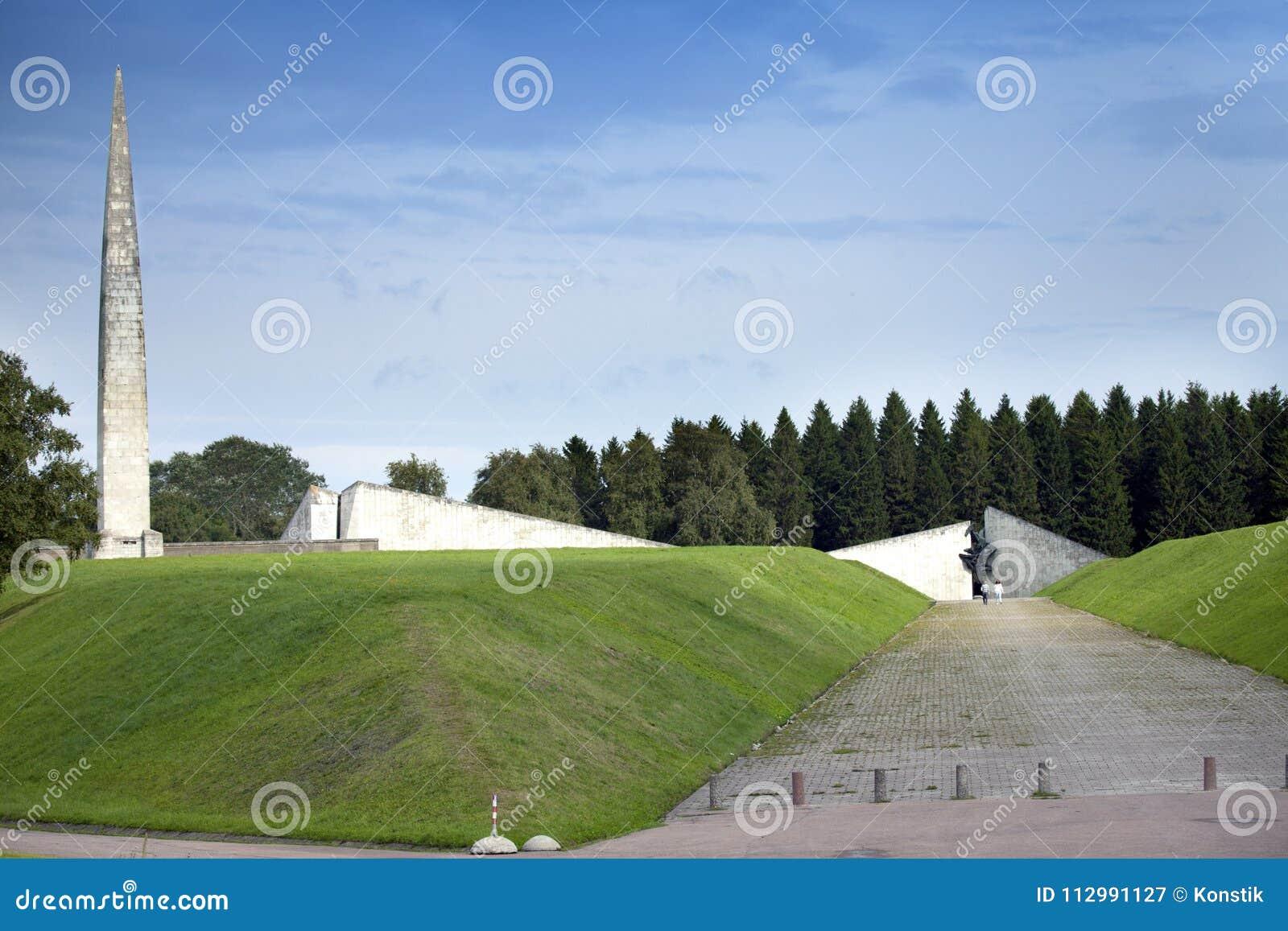World War II Memorial on Mary Hill Maarjamae in the district of Pirita, Tallinn , the capital of Estonia