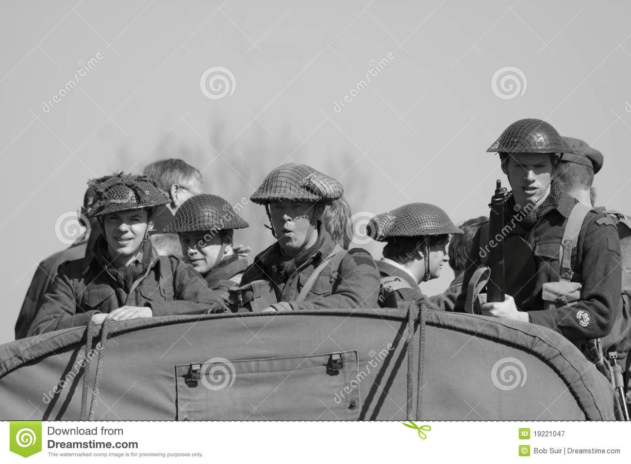 Second World War II Soldiers Editorial Photography - Image