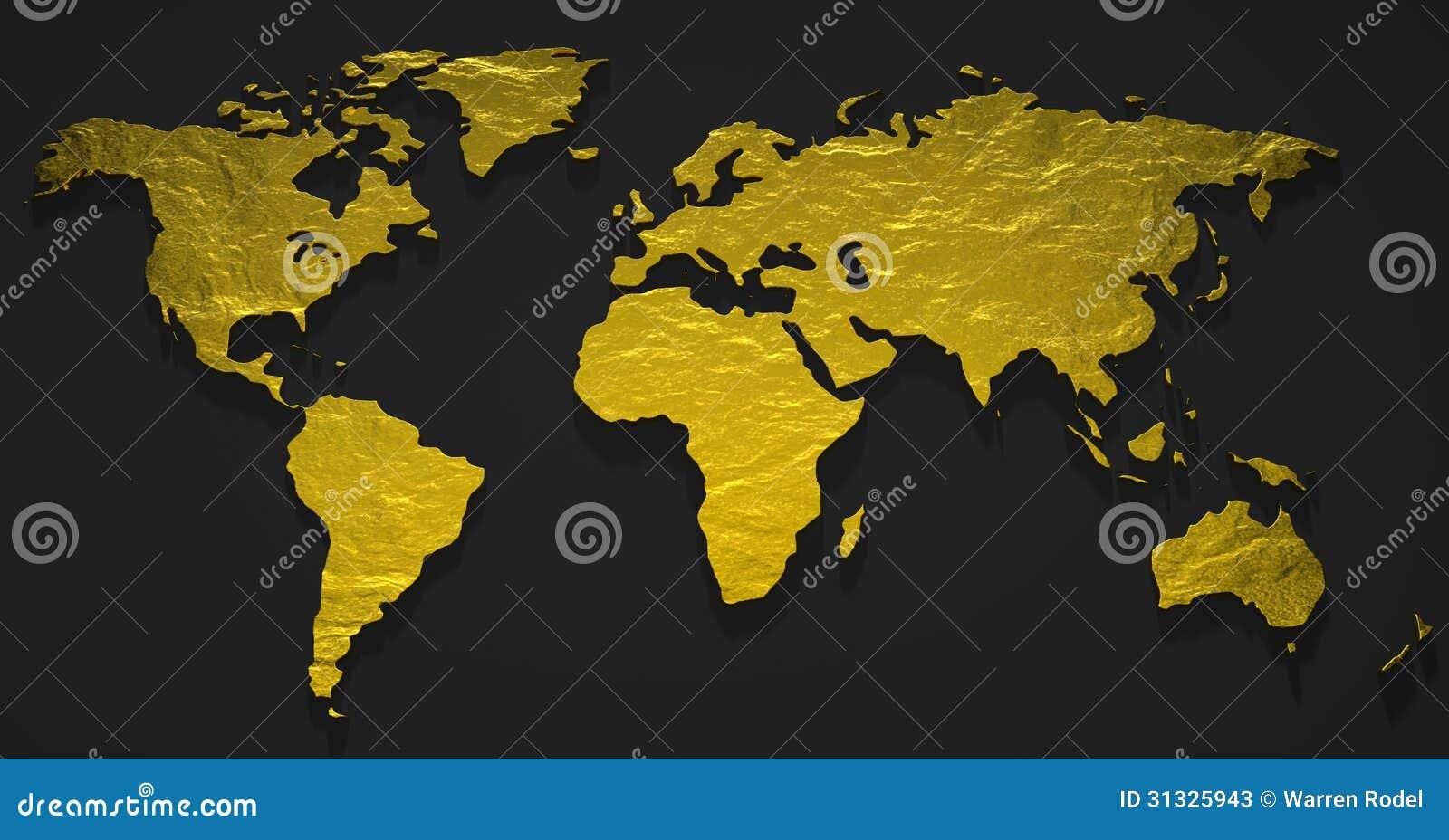 3D Gold Map