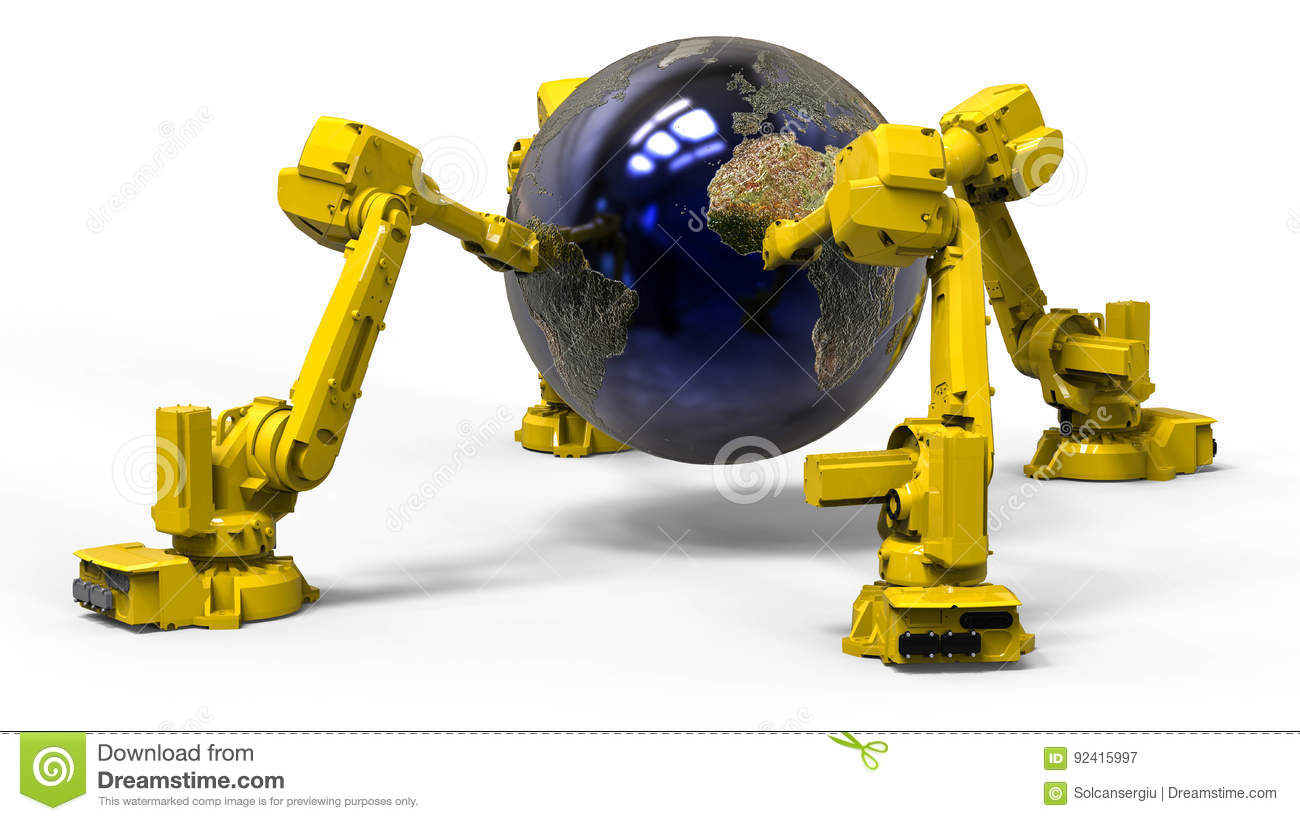 World wide robots