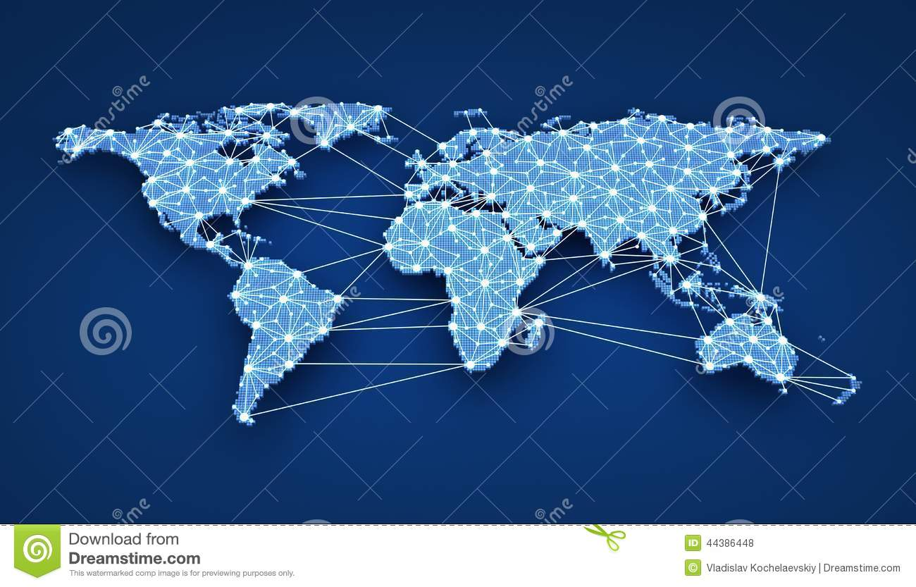 World-wide Web Stock Illustration - Image: 44386448