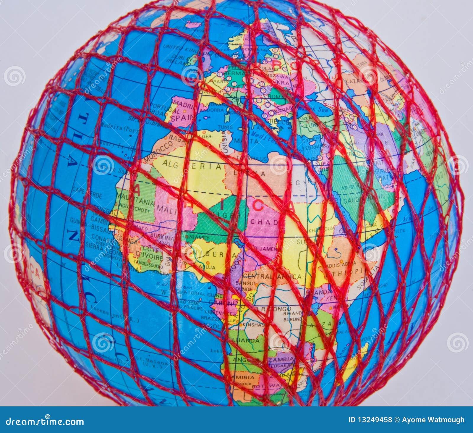 World Wide Web: Europa y África.