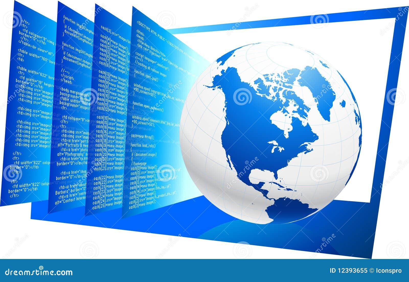 HTML Coding Background Royalty Free Stock Photos - Image: 31522638