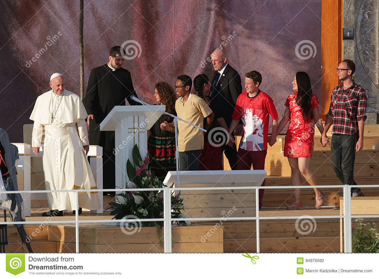 World Youth Day 2016 - pope Francis