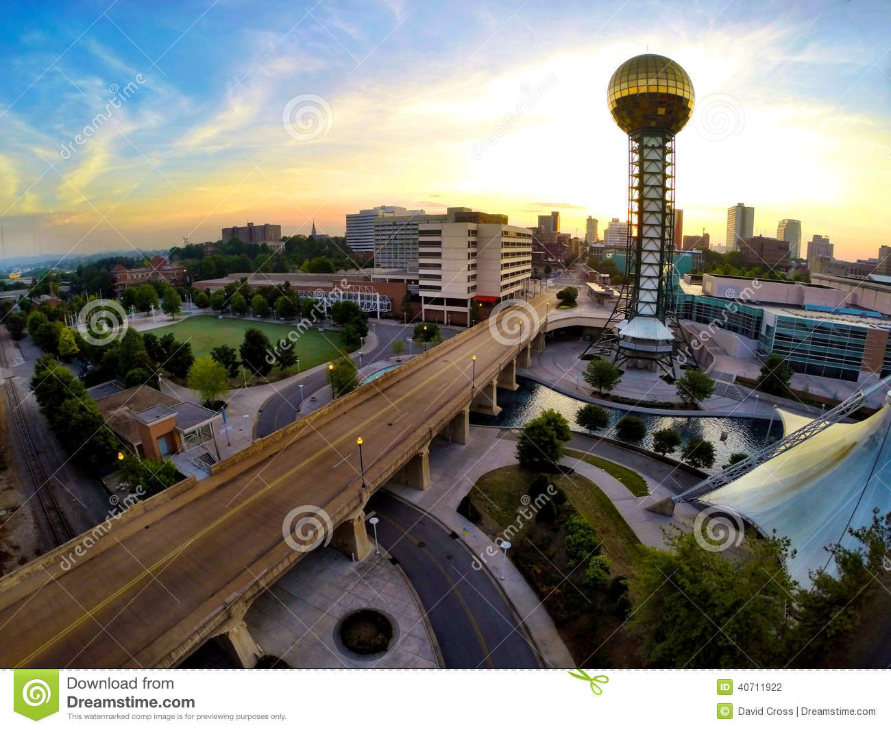 image httpthumbsdreamstimecomzworlds fair park knoxville tn aerial view world s 40711922jpg