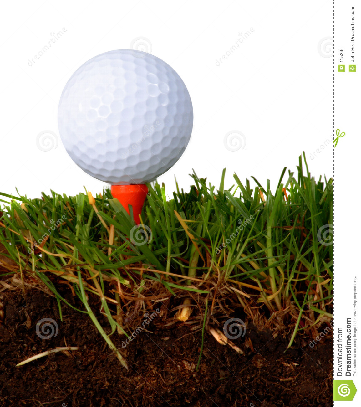 Worms view stock photo image 115240 for Fish food golf balls