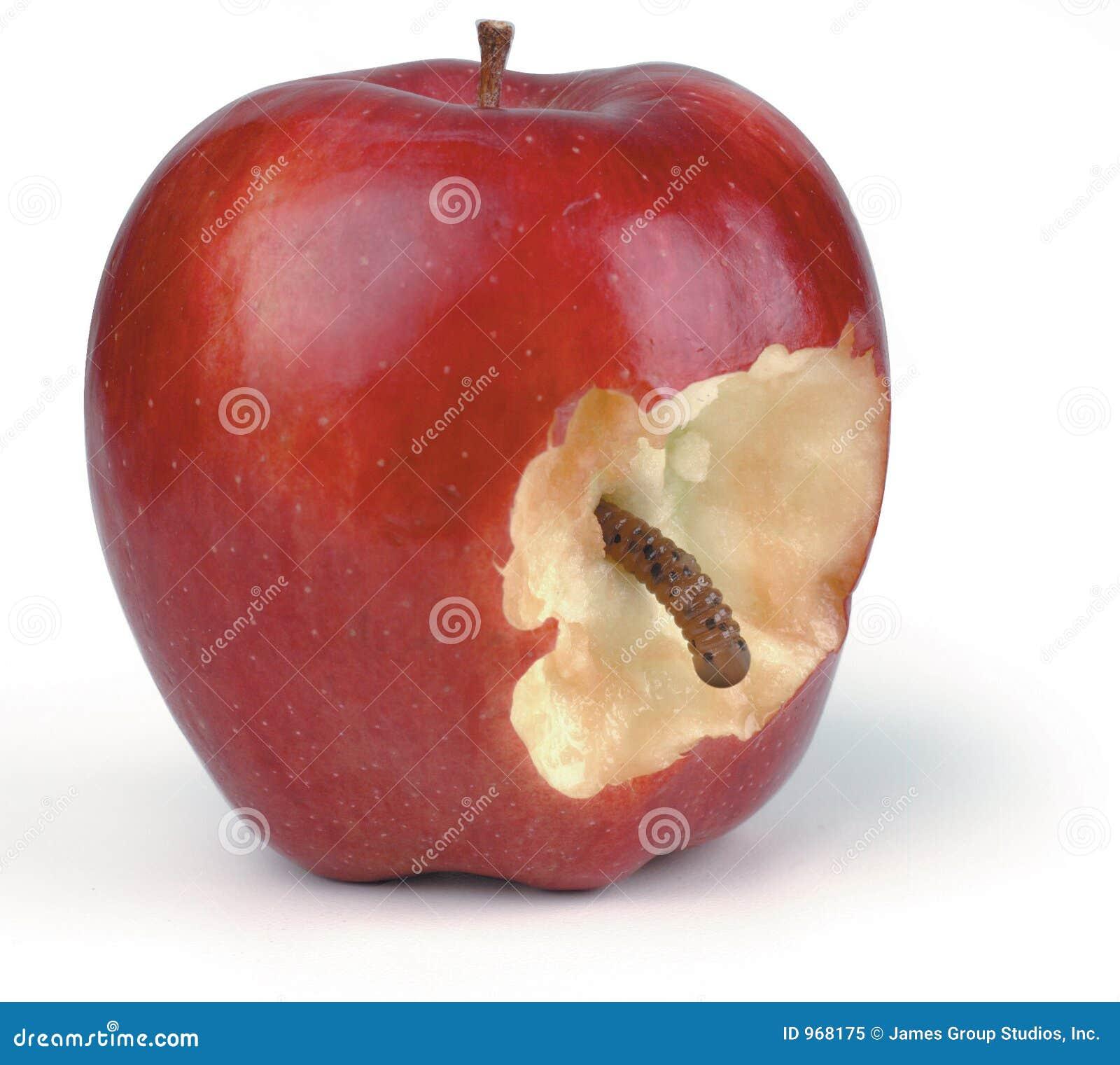 Wormy äpple