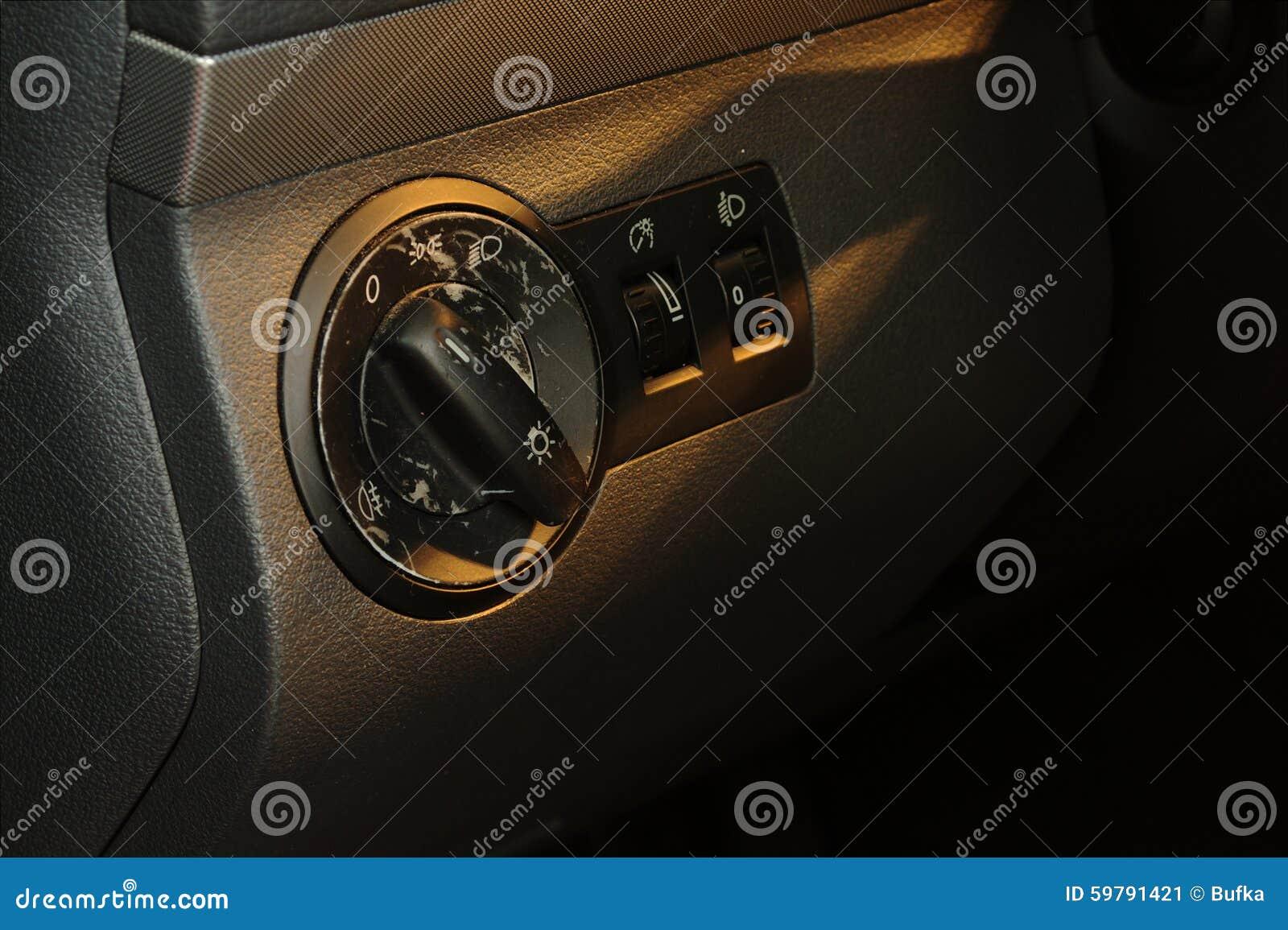 worn car interior stock photo image 59791421. Black Bedroom Furniture Sets. Home Design Ideas