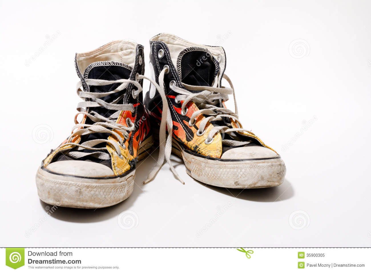Worn Converse All Star Shoes Stock Image - Image of baseball 9fdc5ee32