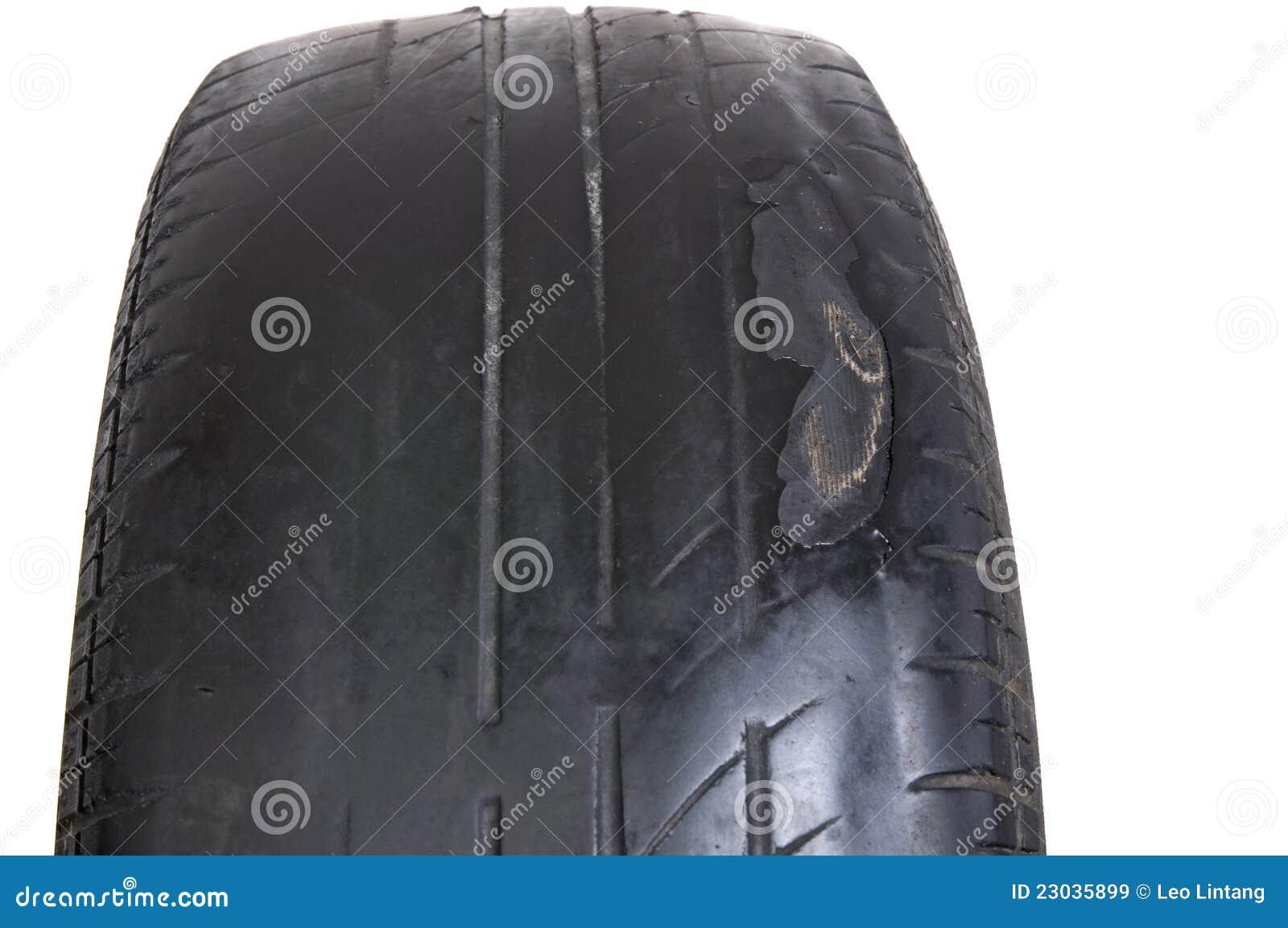 Worn Out Tire Stock Photo Cartoondealer Com 23035896